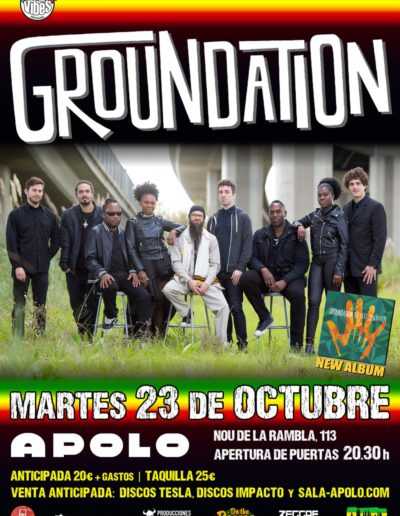 Poster Promo Groundation BCN
